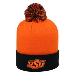 Adult Top of the World Oklahoma State Cowboys Pom Knit Hat