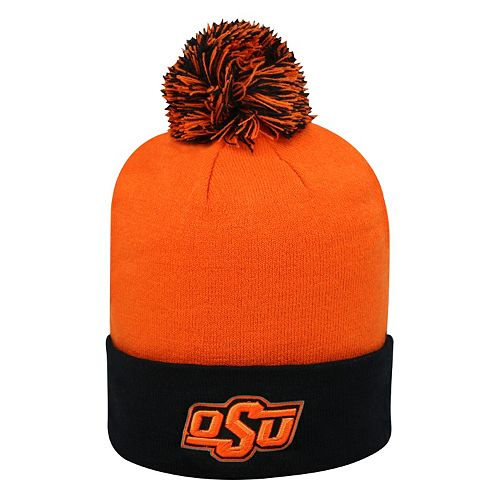 Adult Top of the World Oklahoma State Cowboys Pom Knit Hat de5ffa77d