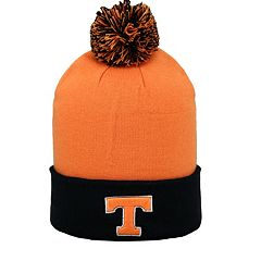 Adult Top of the World Tennessee Volunteers Pom Knit Hat