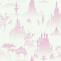 Disney Scenic Tonal Toile Removable Wallpaper