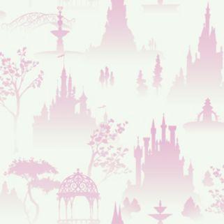 Disney Scenic Tonal Toile Removable Wallpaper
