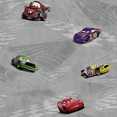 Disney's Cars Racing Removable Wallpaper