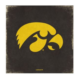 Legacy Athletic Iowa Hawkeyes Vintage Canvas Wall Art
