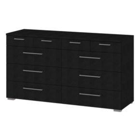 Tvilum Aria 10-Drawer Black Dresser