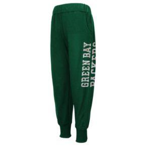 Girls 4-6x Green Bay Packers Shimmer Harem Pants