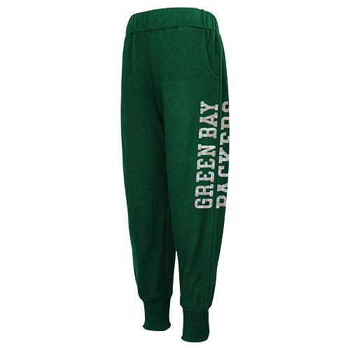 Girls 4-6x Green Bay Packers Shimmer Harem Pants