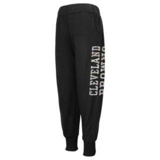 Girls 4-6x Cleveland Browns Shimmer Harem Pants