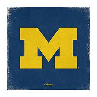Legacy Athletic Michigan Wolverines Vintage Canvas Wall Art