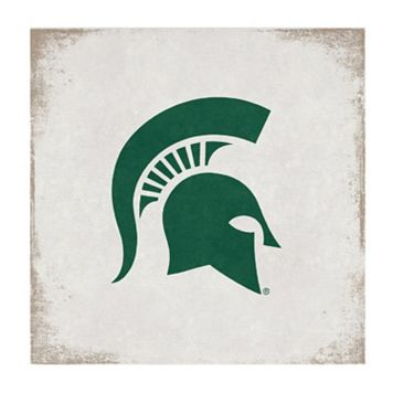 Legacy Athletic Michigan State Spartans Square Canvas Wall Art