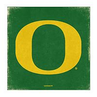 Legacy Athletic Oregon Ducks Square Canvas Wall Art
