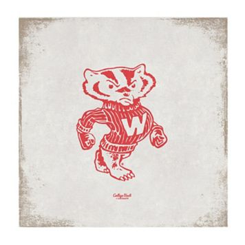 Legacy Athletic Wisconsin Badgers Vintage Canvas Wall Art
