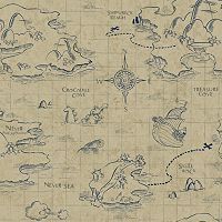 Disney's Jake and the Never Land Pirates Map Removable Wallpaper