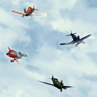 Disney's Planes In the Clouds Removable Wallpaper