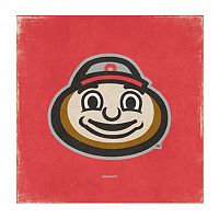 Legacy Athletic Ohio State Buckeyes Square Canvas Wall Art
