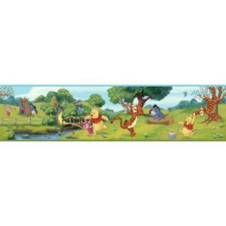 Disney's Winnie the Pooh Swinging Pooh Wall Border