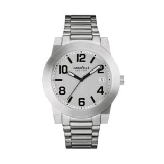 Caravelle New York by Bulova Men's Stainless Steel Watch - 43B142
