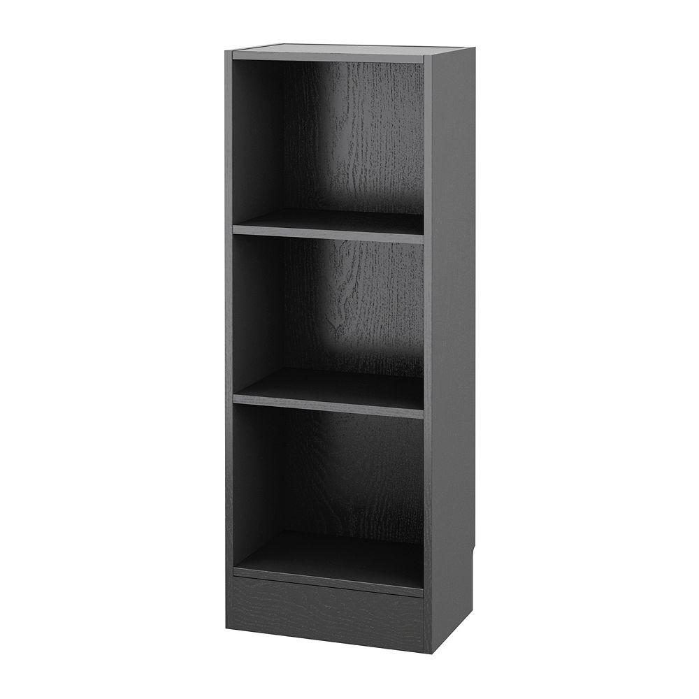 Tvilum Element Narrow 3-Shelf Bookcase