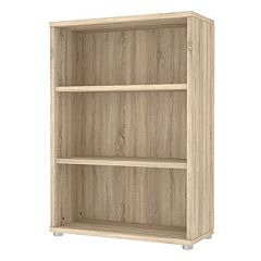Tvilum Structure 3-Shelf Wide Bookcase