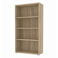 Tvilum Structure 4-Shelf Wide Bookcase