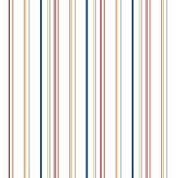 Disney Wide Multi Stripe Removable Wallpaper