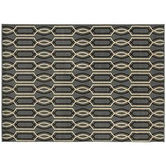 StyleHaven Grant Geometric Lattice Rug