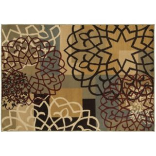 StyleHaven Grant Geometric Block & Floral Rug