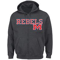 Men's Section 101 by Majestic Ole Miss Rebels Go to Move Hoodie