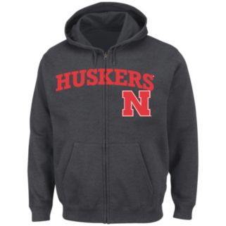 Men's Section 101 by Majestic Nebraska Cornhuskers Go to Move Hoodie