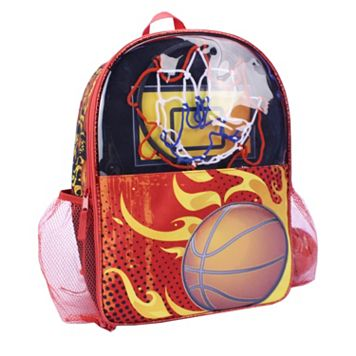 Basketball with Hoop Backpack - Kids
