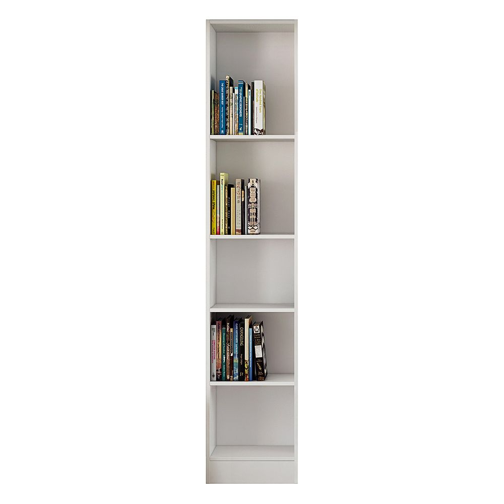 Tvilum Element Tall 5-Shelf Bookcase