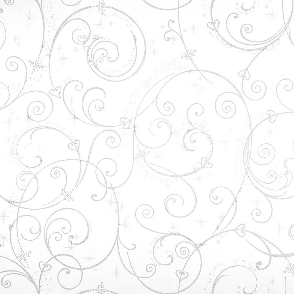Disney Perfect Princess Scroll Removable Wallpaper