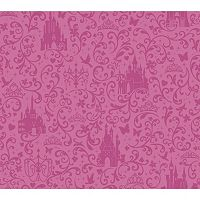 Disney Small Scrolls & Castles Removable Wallpaper