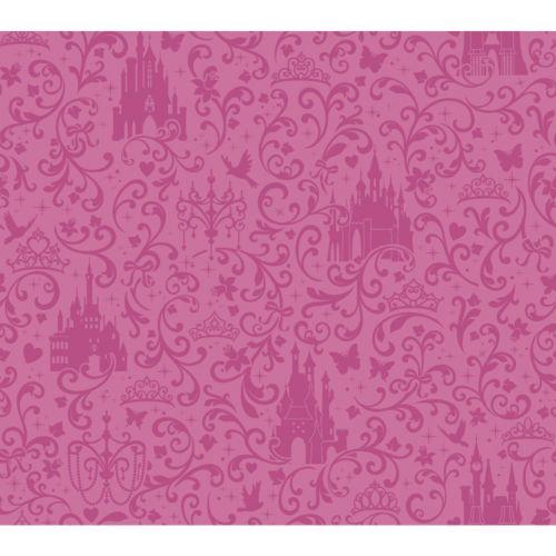 Disney Small Scrolls & Castles Removable Wallpaper
