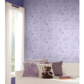 Disney's Sofia the First Toile Removable Wallpaper