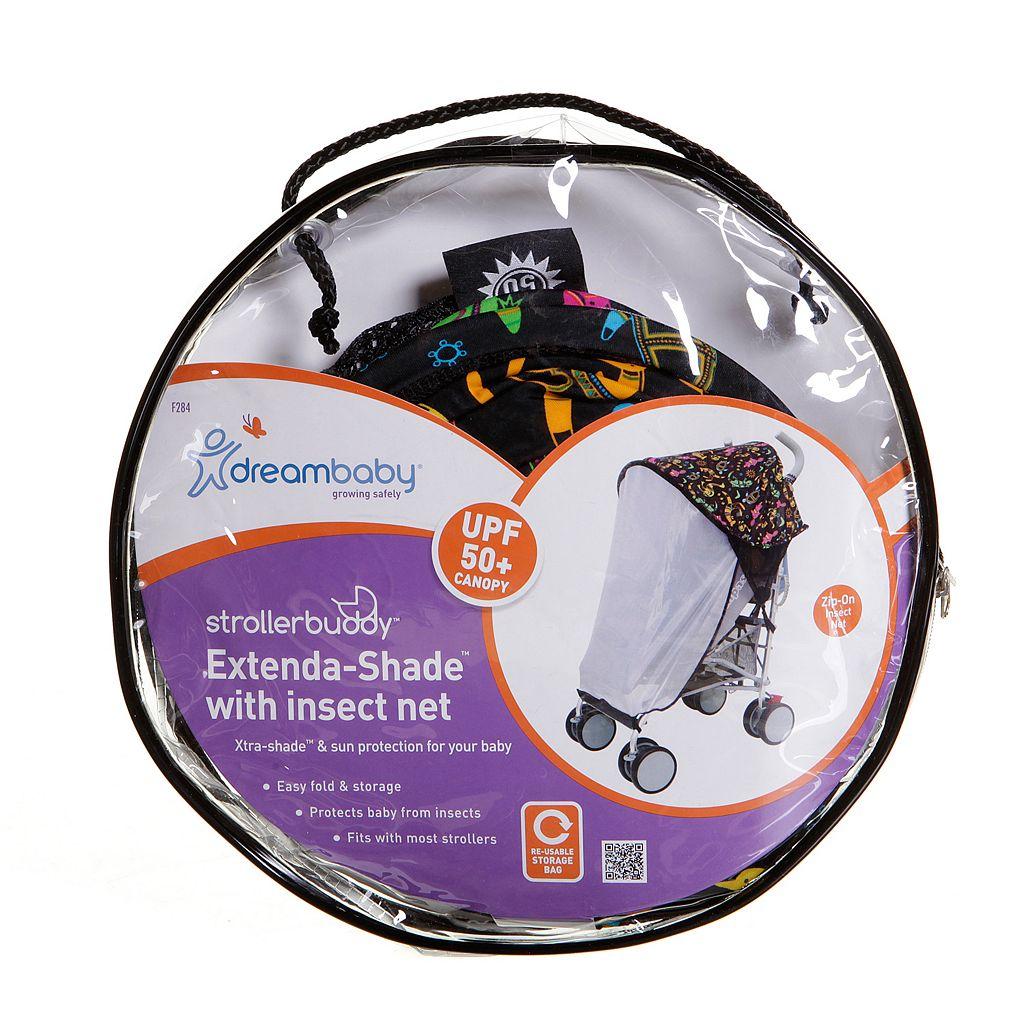 Dreambaby Strollerbuddy Extenda-Shade & Insect Netting