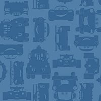 Disney's Cars Lightning McQueen & Mater Removable Wallpaper