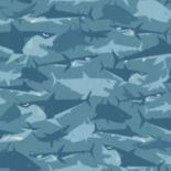 Disney Shark Removable Wallpaper