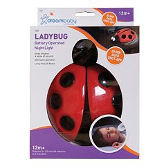 Dreambaby Ladybug Battery-Operated Night Light