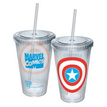 Marvel Captain America Shield 16-oz. Tumbler