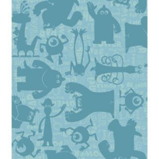 Disney / Pixar Monsters, Inc. Graphic Removable Wallpaper