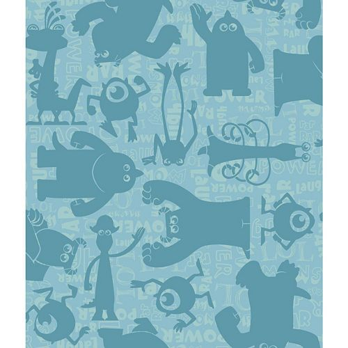 Disney / Pixar Monsters, Inc. Graphic Removable Wallpaper