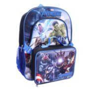 Marvel Avengers Backpack & Lunch Bag Set - Kids