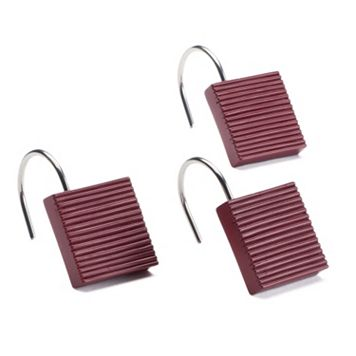 Saturday Knight, Ltd. Evan Stripe 12-pk. Shower Curtain Hooks