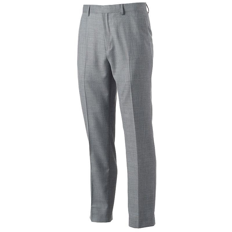 Apt. 9 Slim-Fit Sharkskin Stretch Dress Pants - Men