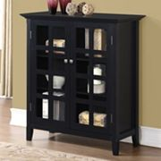 Simpli Home Acadian Medium Storage Cabinet