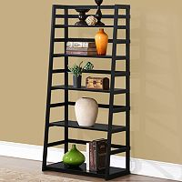 Simpli Home Acadian 5 Shelf Ladder Bookcase
