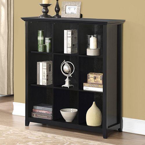 Simpli Home Acadian 9 Cube Bookcase