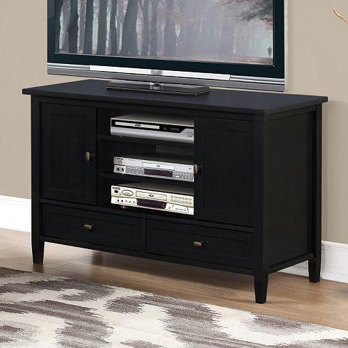 Simpli Home Warm Shaker TV Stand