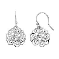 Dayna U Alabama Crimson Tide Sterling Silver Drop Earrings