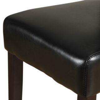 Simpli Home 2-piece Avalon Deluxe Parson Chair Set